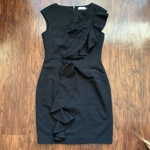 calvin klein little black dress - size 6
